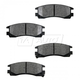 1ABPS00082-Brake Pads Rear
