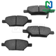 1ABPS00087-Brake Pads Rear