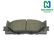 1ABPS00086-2007 Toyota Camry Brake Pads Front  Nakamoto CD1222