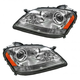 1ALHP00794-Mercedes Benz Headlight Pair