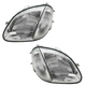1ALHP00796-Mercedes Benz Headlight Pair