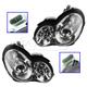 1ALHP00790-Mercedes Benz Headlight Pair