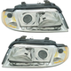 1ALHP00799-Audi A4 A4 Quattro S4 Headlight Pair