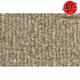 ZAICK24180-2001-06 GMC Sierra 2500 HD Complete Carpet 7099-Antelope/Light Neutral