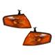 1ALPP00238-1997-98 Mazda Protege Corner Light Pair