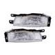 1ALHP00745-1990-92 Nissan Stanza Headlight Pair