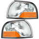 1ALPP00240-1999-00 Mercury Villager Nissan Quest Corner Light Pair
