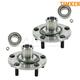 TKSHS00496-Wheel Bearing & Hub Assembly Front Pair Timken HA590600K