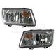 1ALHP00721-2002-05 Volkswagen Jetta Headlight Pair