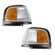 1ALPP00259-1987-96 Oldsmobile Cutlass Ciera Corner Light Pair
