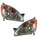1ALHP00713-2005-06 Honda CR-V Headlight Pair