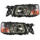 1ALHP00714-2003-04 Subaru Forester Headlight Pair