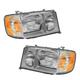 1ALHP00789-Mercedes Benz E300D E320 E420 Headlight Pair