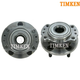 TKSHS00492-Wheel Bearing & Hub Assembly Rear Pair Timken 512157