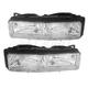 1ALHP00778-1988-91 Oldsmobile Cutlass Supreme FWD Headlight Pair