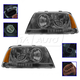 1ALHP00777-2003-05 Lincoln Aviator Headlight Pair