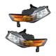 1ALHP00773-2007-08 Acura TL Headlight Pair