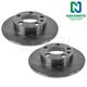 1ABFS01020-Brake Rotor Pair