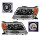 1ALHP00756-2006-08 Suzuki Grand Vitara Headlight Pair