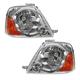 1ALHP00755-2004-06 Suzuki Grand Vitara XL-7 Headlight Pair