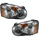 1ALHP00759-2005 Subaru Headlight Pair