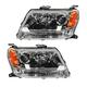 1ALHP00757-2009-13 Suzuki Grand Vitara Headlight Pair