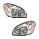 1ALHP00707-2006-08 Buick Lucerne Headlight Pair