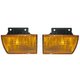 1ALPP00288-1987-96 Chevy Beretta Parking Light Pair
