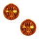 1ALPP00297-2000-02 Pontiac Sunfire Parking Light Pair
