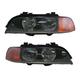 1ALHP00690-BMW 528i 540i Headlight Pair