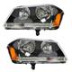 1ALHP00675-2008-14 Dodge Avenger Headlight Pair