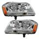 1ALHP00674-2008-14 Dodge Avenger Headlight Pair