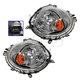 1ALHP00671-Mini Cooper Cooper Clubman Headlight Pair