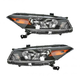 1ALHP00670-2008-10 Honda Accord Headlight Pair