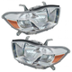 1ALHP00677-2008-10 Toyota Highlander Headlight Pair