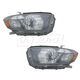 1ALHP00678-2008-10 Toyota Highlander Headlight Pair