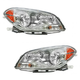 1ALHP00681-Chevy Malibu Headlight Pair