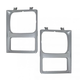 1ALHP00689-Headlight Bezel Pair