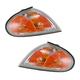 1ALPP00182-1999-00 Hyundai Elantra Corner Light Pair