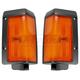 1ALPP00153-1986-87 Nissan D21 Hardbody Pickup Corner Light Pair