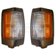1ALPP00155-1990-97 Nissan D21 Hardbody Pickup Corner Light Pair