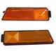 1ALPP00168-Volkswagen Golf Jetta Side Marker Light Pair Front
