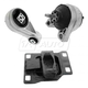 1AEEK00553-2000-04 Ford Focus Engine & Transmission Mount Kit