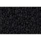 ZAICK15312-1973 Pontiac GTO Complete Carpet 01-Black