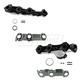 1AEEK00402-Chevy Equinox Pontiac Torrent Exhaust Manifold & Gasket Kit Pair