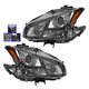 1ALHP00990-2011 Nissan Maxima Headlight Pair
