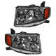 1ALHP00998-2009-10 Honda Element Headlight Pair
