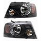 1ALHP00995-2006-08 Ford F150 Truck Headlight Pair
