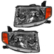 1ALHP00999-2009-11 Honda Element Headlight Pair