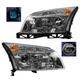 1ALHP00980-Mercury Milan Headlight Pair